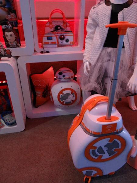 BB-8 Merchandise Luggage- Star Wars Press Event - #StarWarsEvent