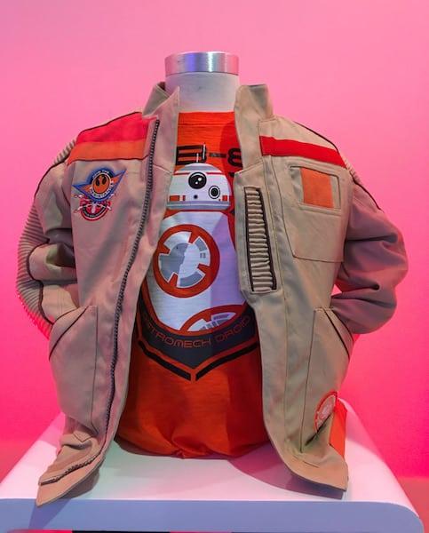 BB-8 Orange Shirt - Star Wars Press Event - #StarWarsEvent