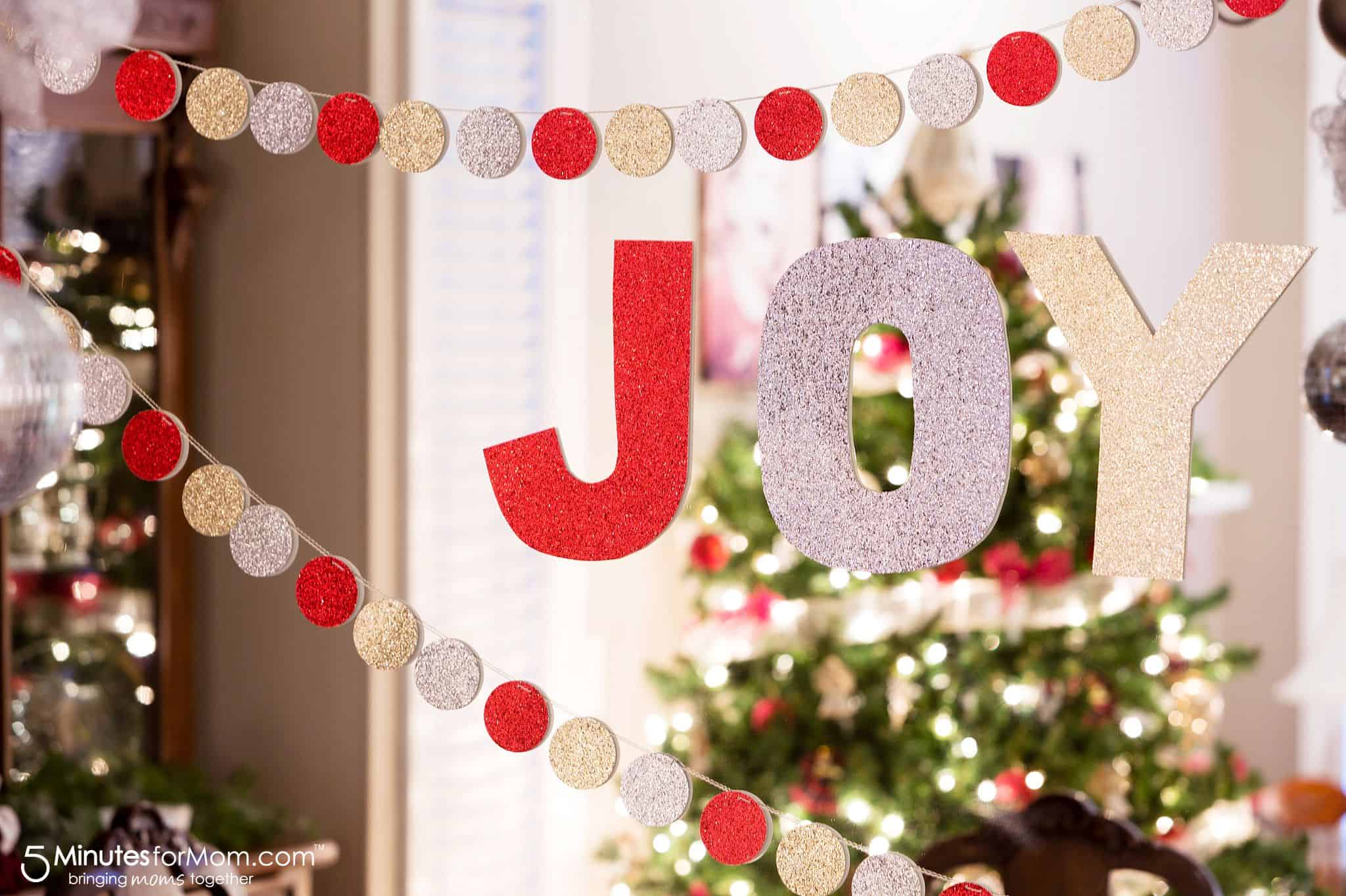 Diy Christmas Garland So Easy To Make 5 Minutes For Mom