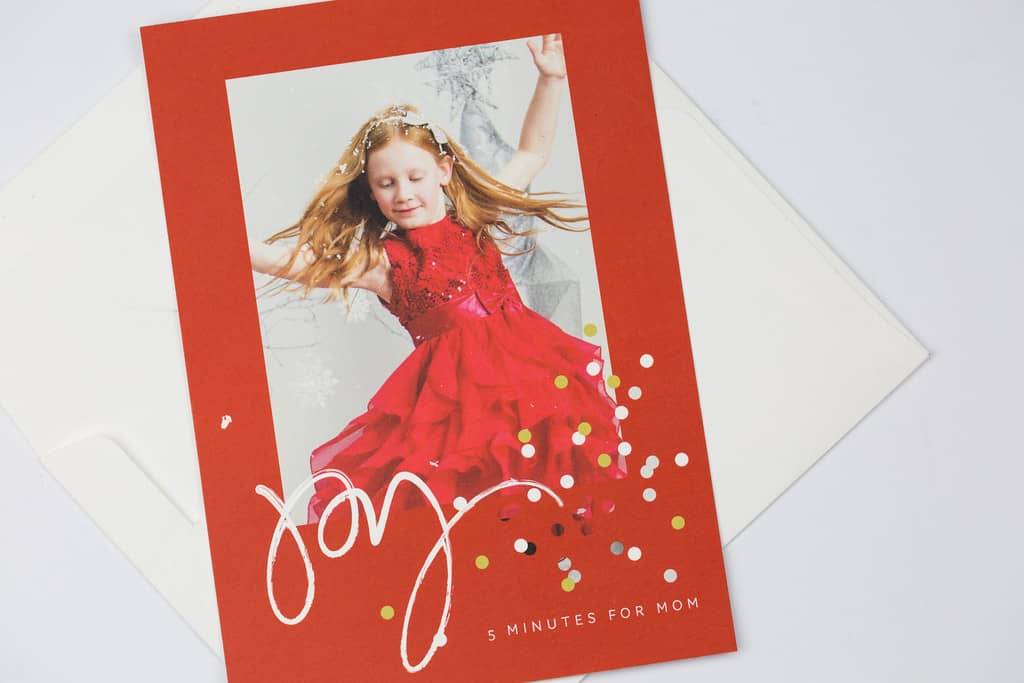 Custom Christmas Card from Minted