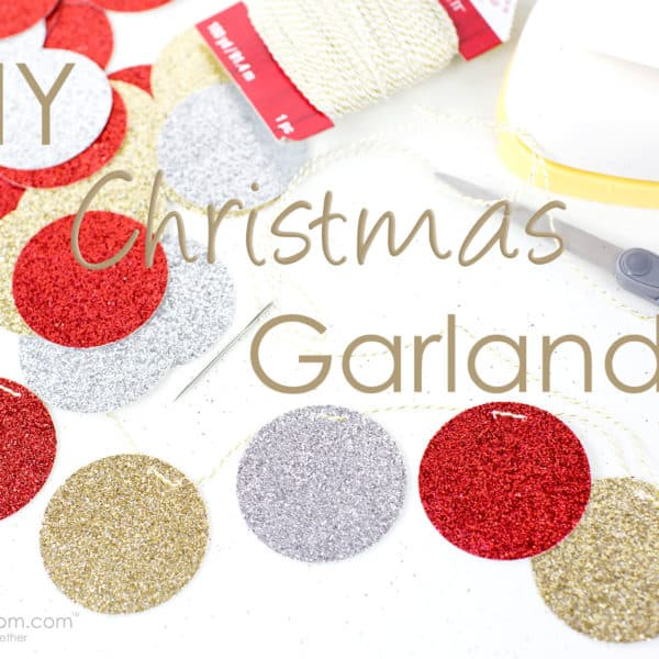 DIY Christmas Garland – So Easy to Make!