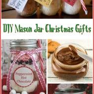 10 #DIY Mason Jar Christmas Gift Ideas