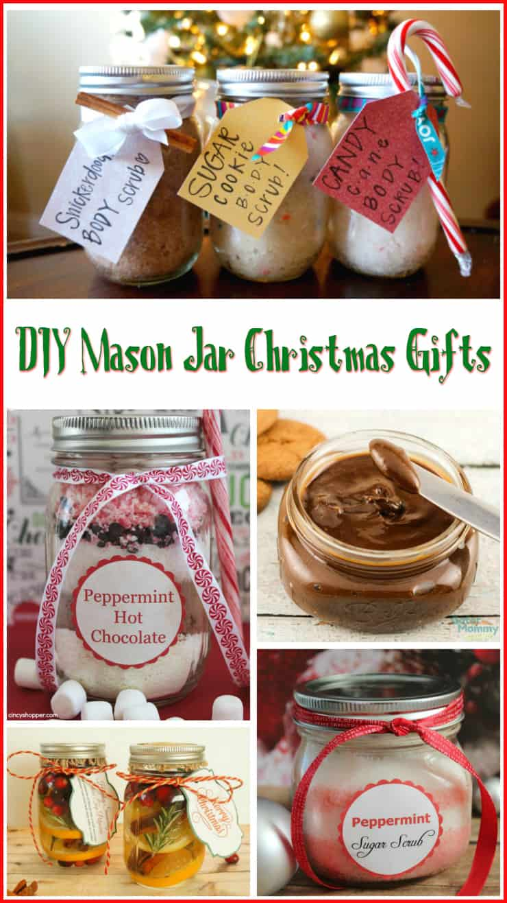 10 DIY Mason Jar Christmas Gift Ideas - 5 Minutes for Mom