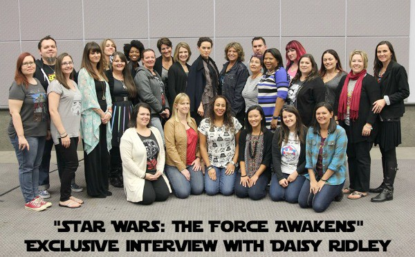 Daisy Ridley - Group Photo - #StarWarsEvent