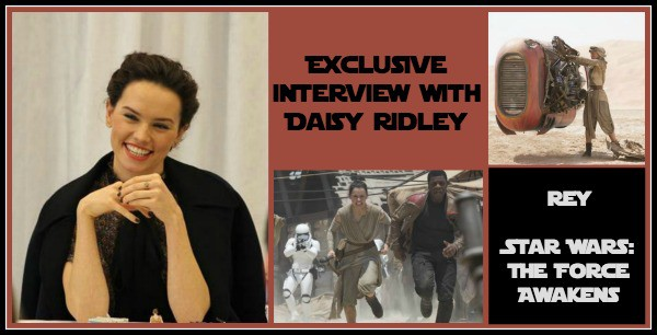 Daisy Ridley Interview Photo #StarWarsEvent