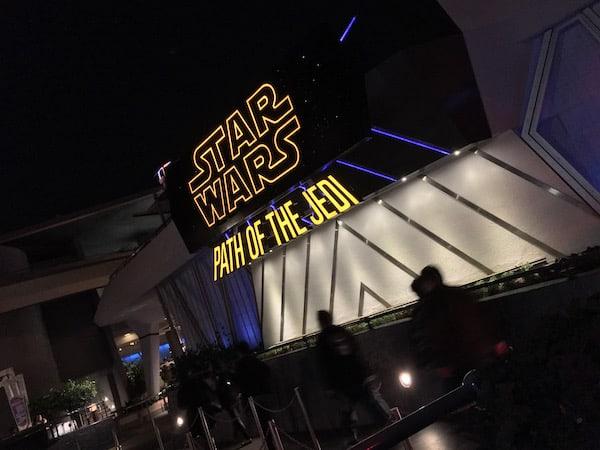 Disneyland - Path of the Jedi - #StarWarsEvent