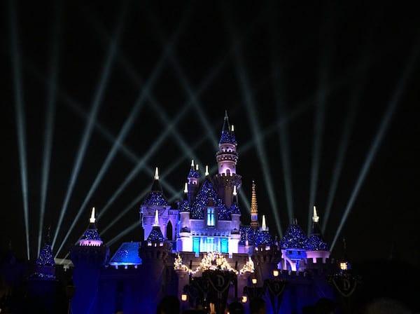 Disneyland - Sleeping Beauty Castle - Christmas - #StarWarsEvent