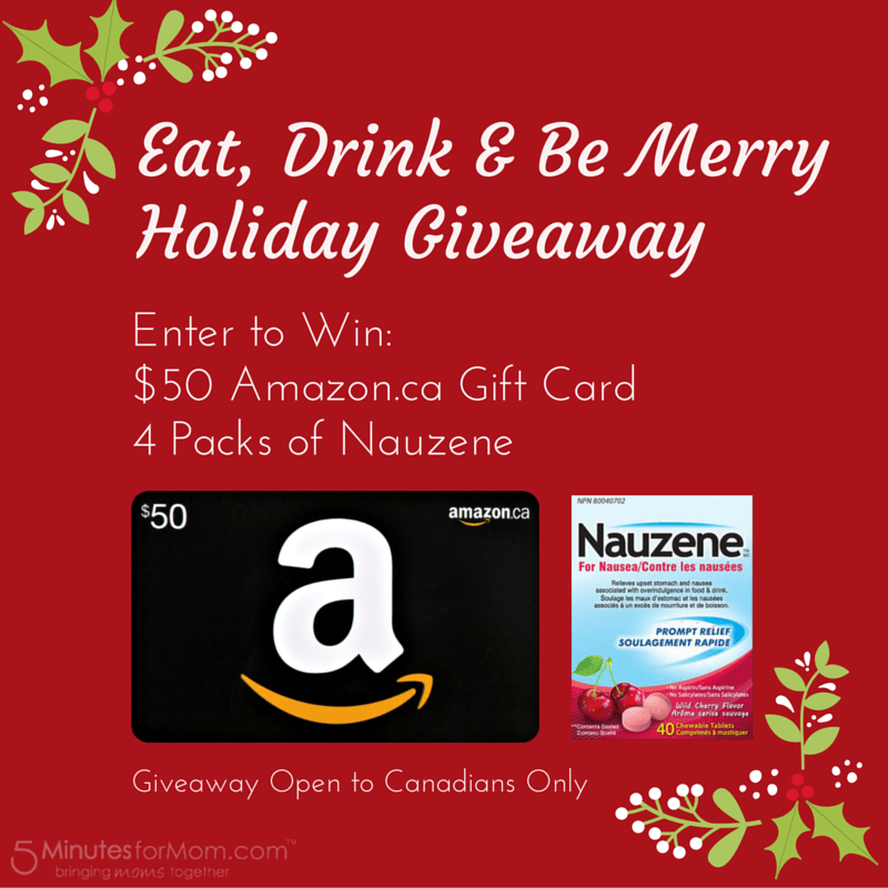 Eat Drink and Be Merry Holiday Giveaway
