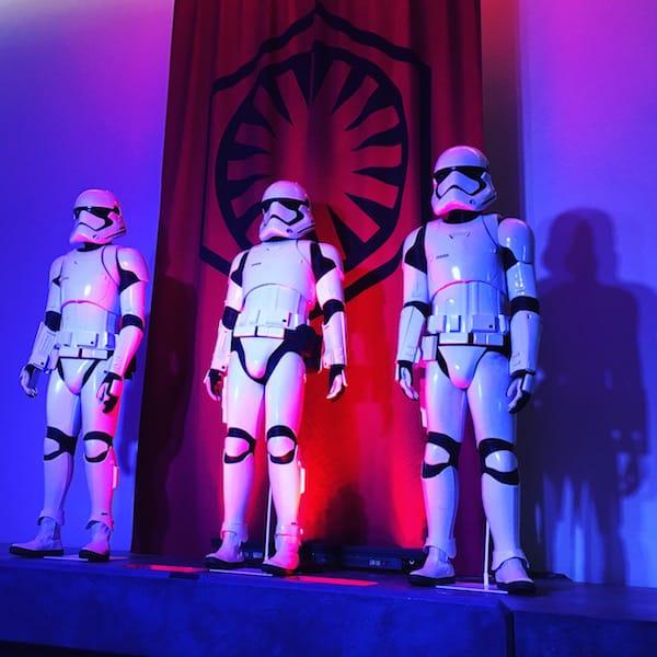 First Order Stormtroopers - Star Wars Press Event - #StarWarsEvent