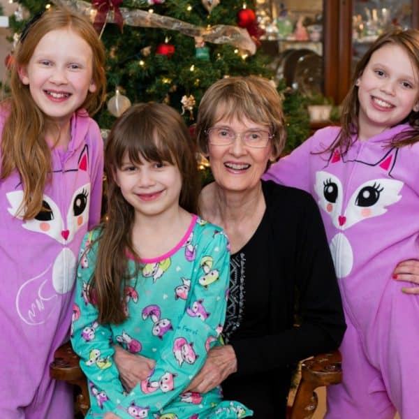 Wordless Wednesday – Grandma and Our Girls