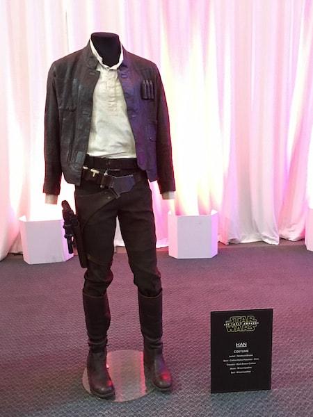 Han Solo Costume - Star Wars Press Event - #StarWarsEvent