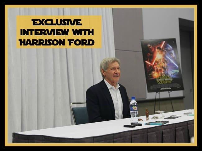 Harrison Ford Interview -#StarWarsEvent