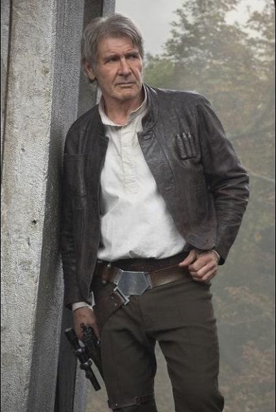 Harrison Ford as Han Solo -#StarWarsEvent #TheForceAwakens #StarWars