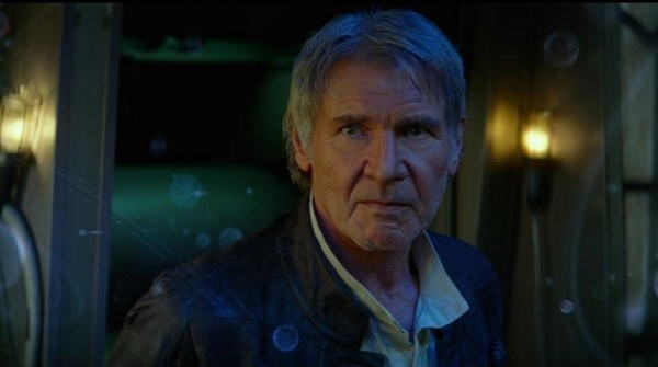 Harrison Ford as Han Solo - #StarWarsEvent