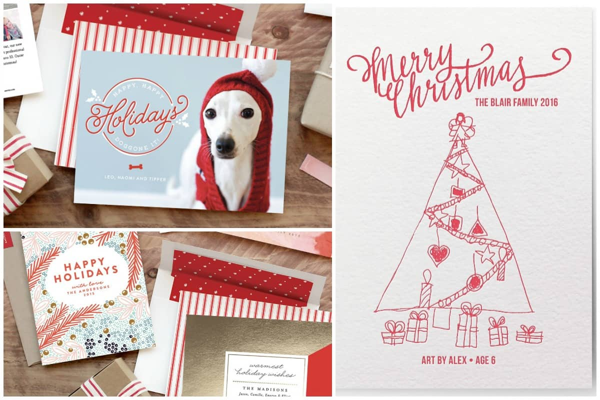 Holiday Cards From Minted 5 Minutes For Mom