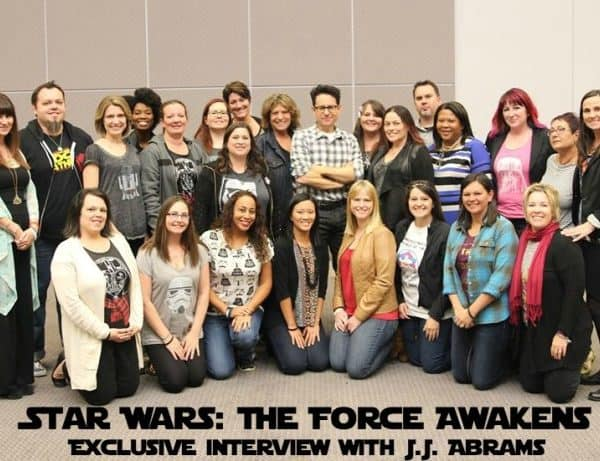 Exclusive Interview with J.J. Abrams, the Man Behind Star Wars: The Force Awakens #StarWarsEvent #TheForceAwakens