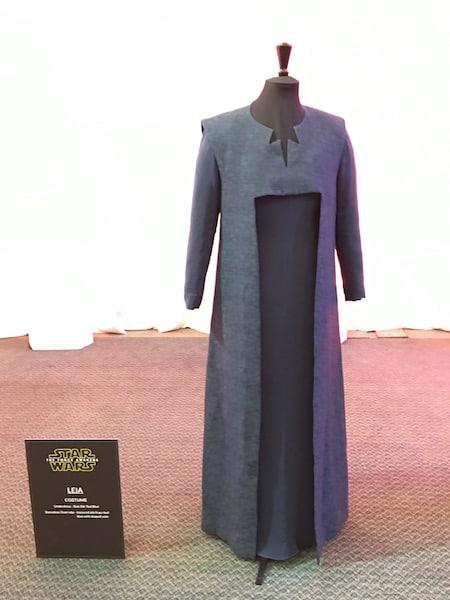 Leia Costume - Star Wars Press Event - #StarWarsEvent