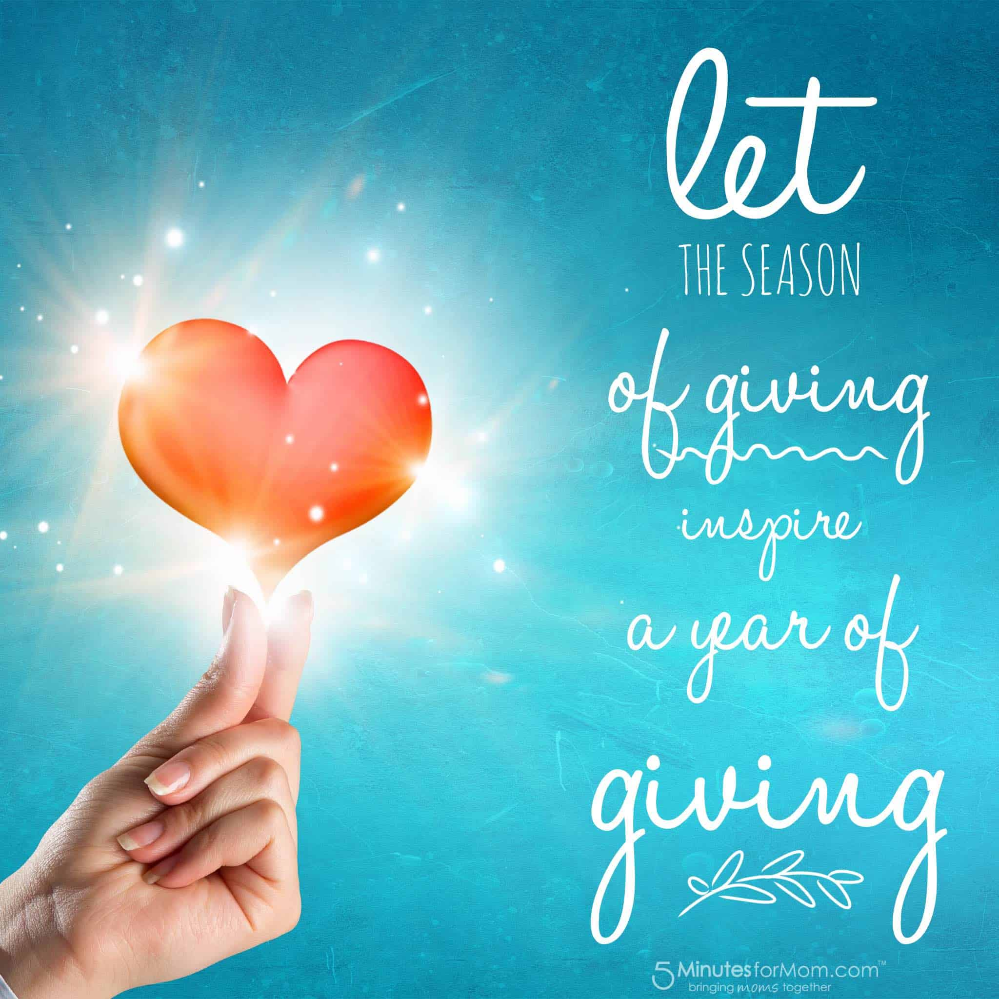 Let the season of giving inspire a year of giving treatsfortoys let the season of giving inspire a year of giving kristyandbryce Image collections