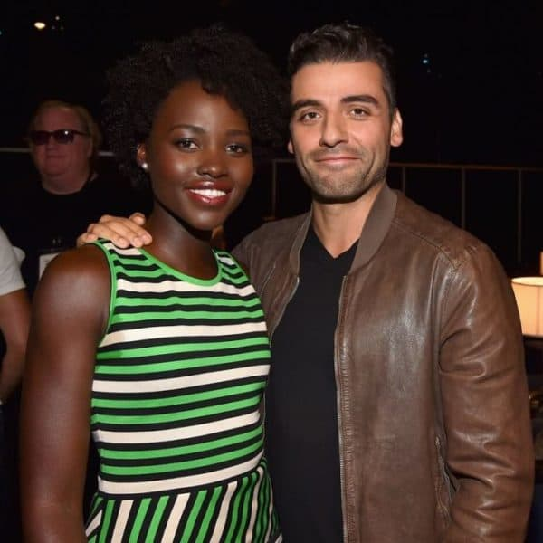 Exclusive Interview with Lupita Nyong'o and Oscar Isaac – #StarWarsEvent #TheForceAwakens