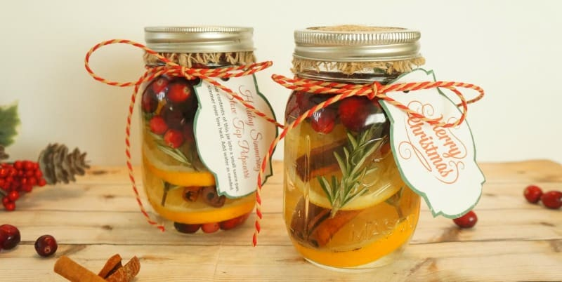 10 #DIY Mason Jar Christmas Gift Ideas