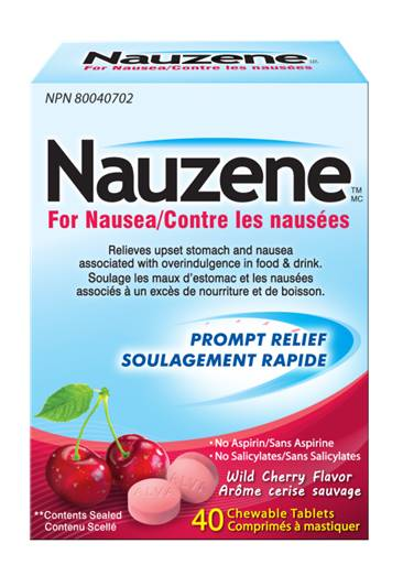 Nauzene Chewable Tablets