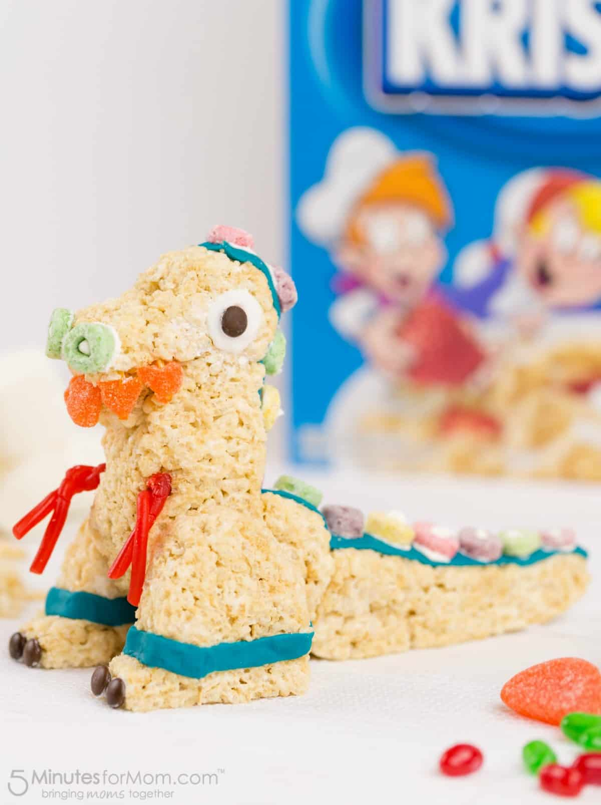 Rice Krispies Treats Shaped Like Toys