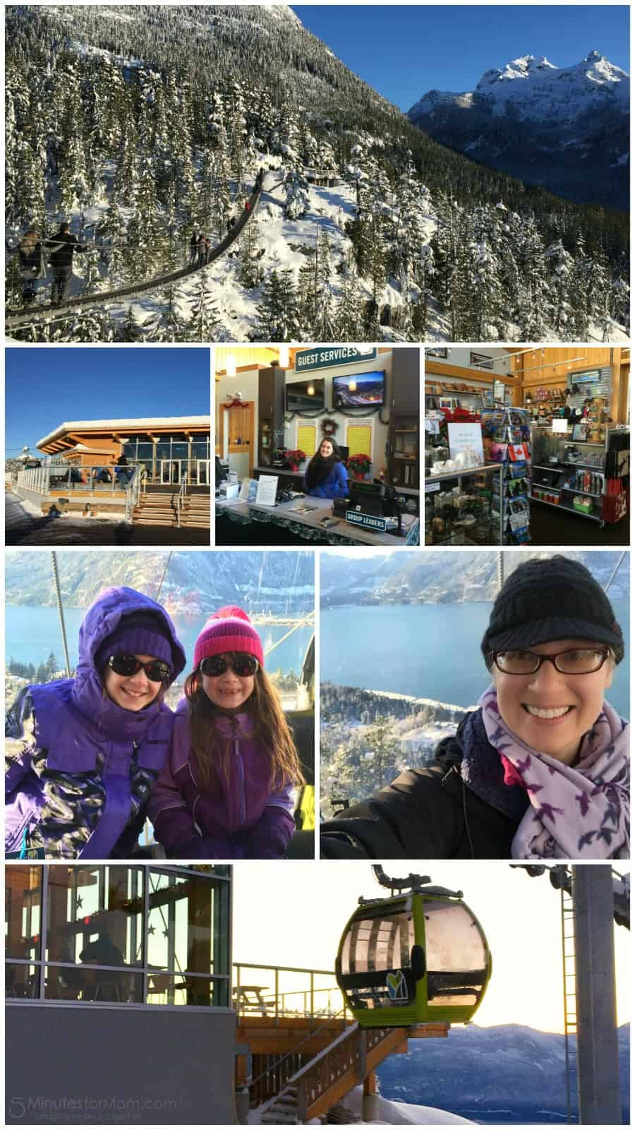 Sea to Sky Gondola in Squamish British Columbia
