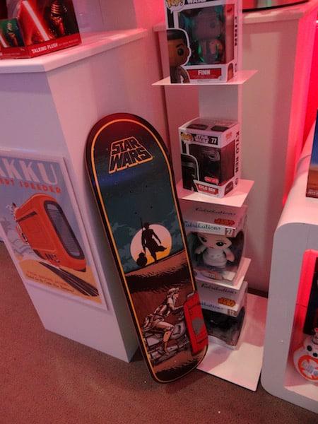 Star Wars Merchandise Board - #StarWarsEvent