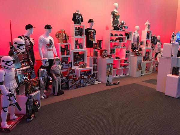 Star Wars Merchandise Display - Star Wars Press Event - #StarWarsEvent