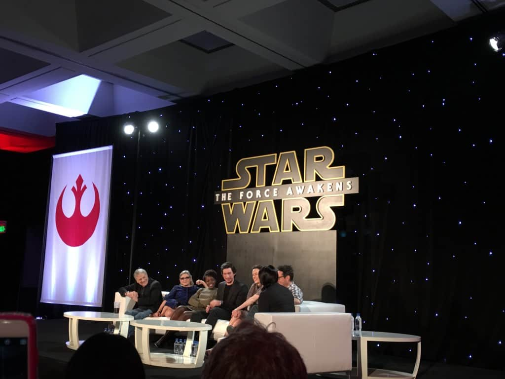 Star Wars Press Conference 1 - #StarWarsEvent