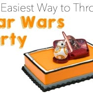 The Easiest Way to Throw a Star Wars Party to Celebrate #TheForceAwakens