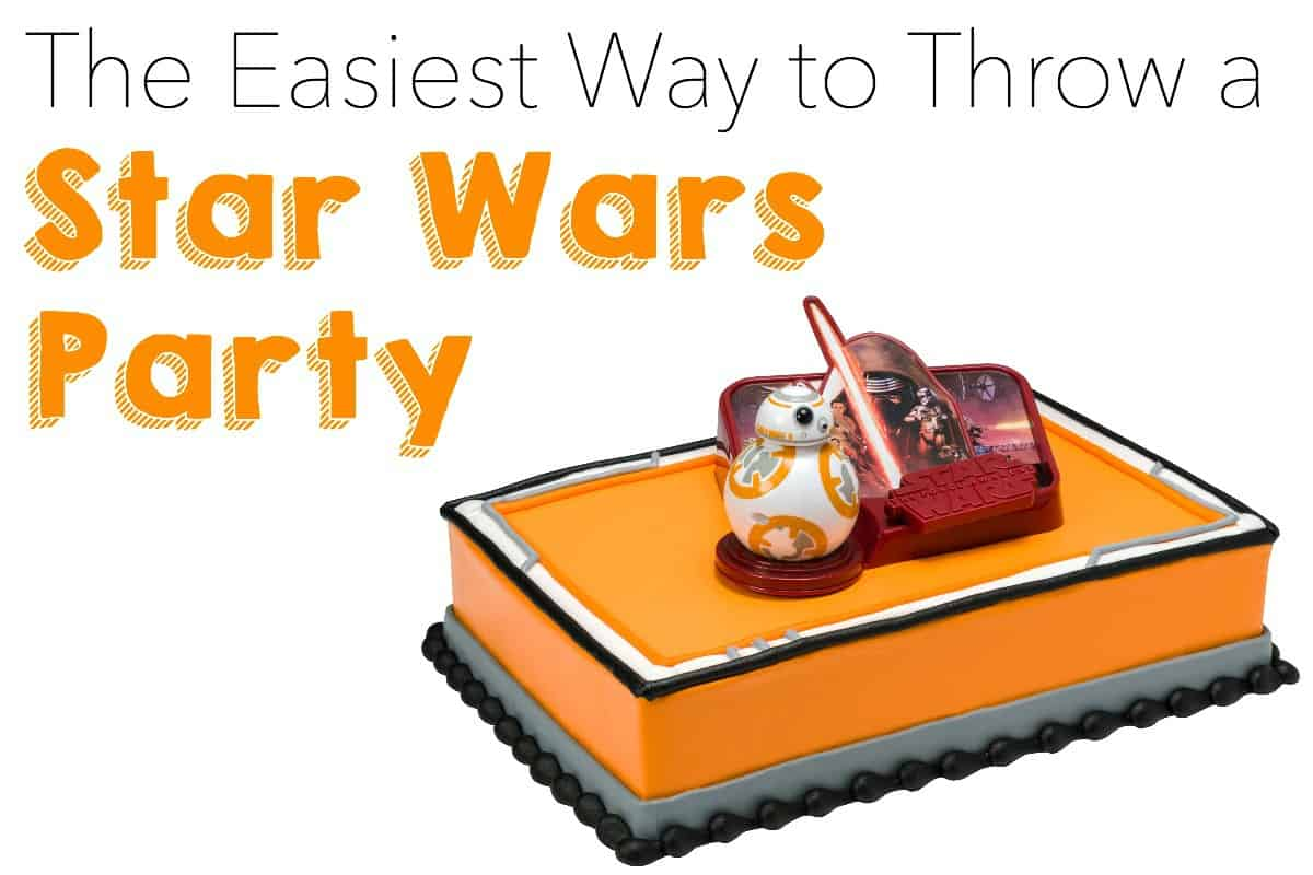 The Easiest Way to Throw a Star Wars Party or Playdate