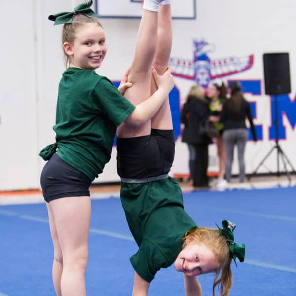 Wordless Wednesday — A New Cheer Season