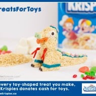 How Making Rice Krispies Treats Helps Kids In Need #TreatsforToys #Giveaway