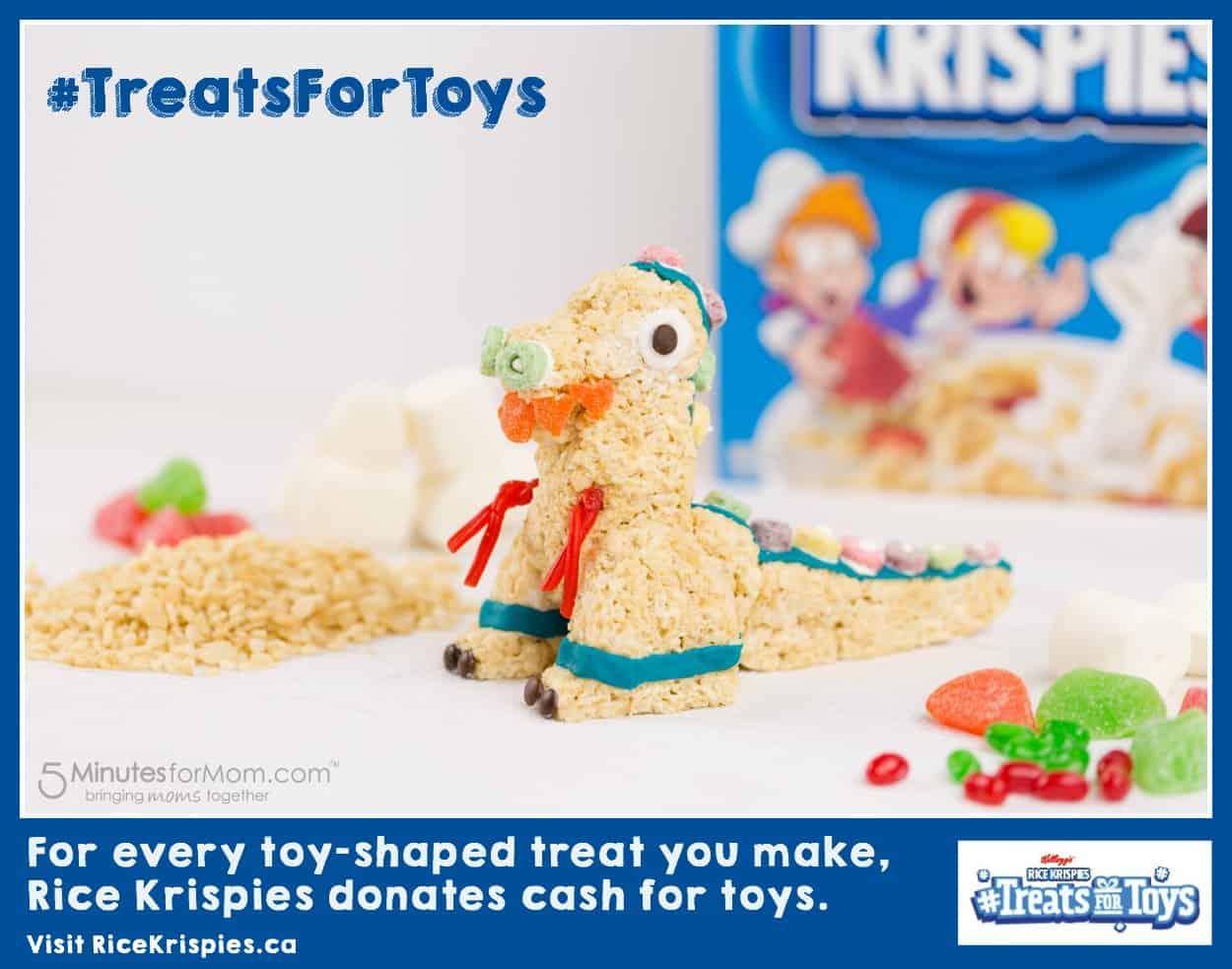 Rice Krispies Treats for Toys - Toy Shaped Treats