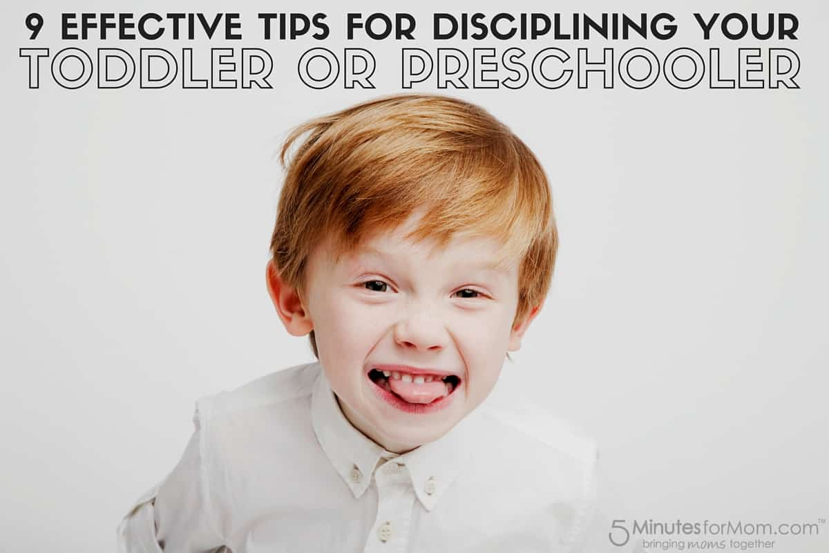 9 Effective Tips for Disciplining your Toddler