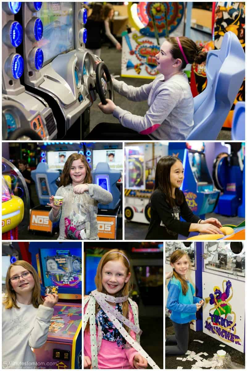 All ages have fun at Chuck E Cheese