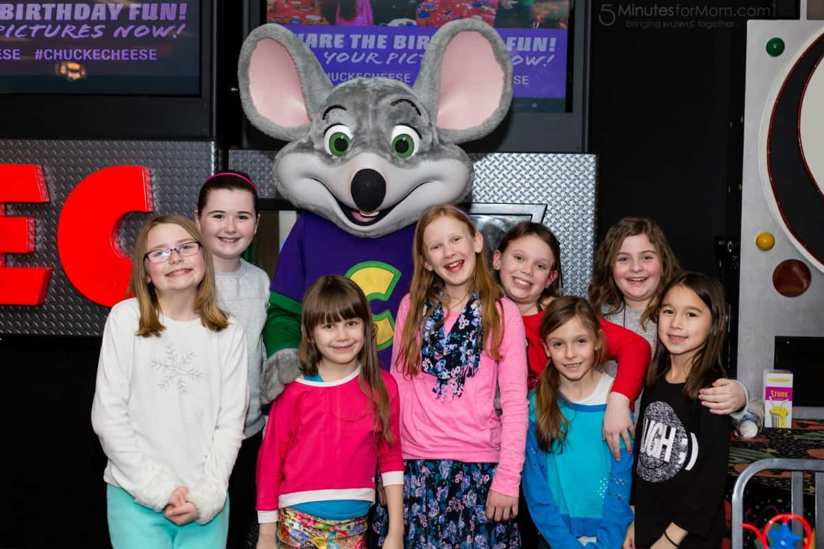 A Birthday Party at Chuck E. Cheese's is a Gift For You