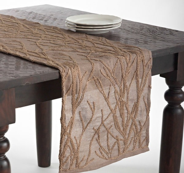 Cappuccino Dining Table Runner
