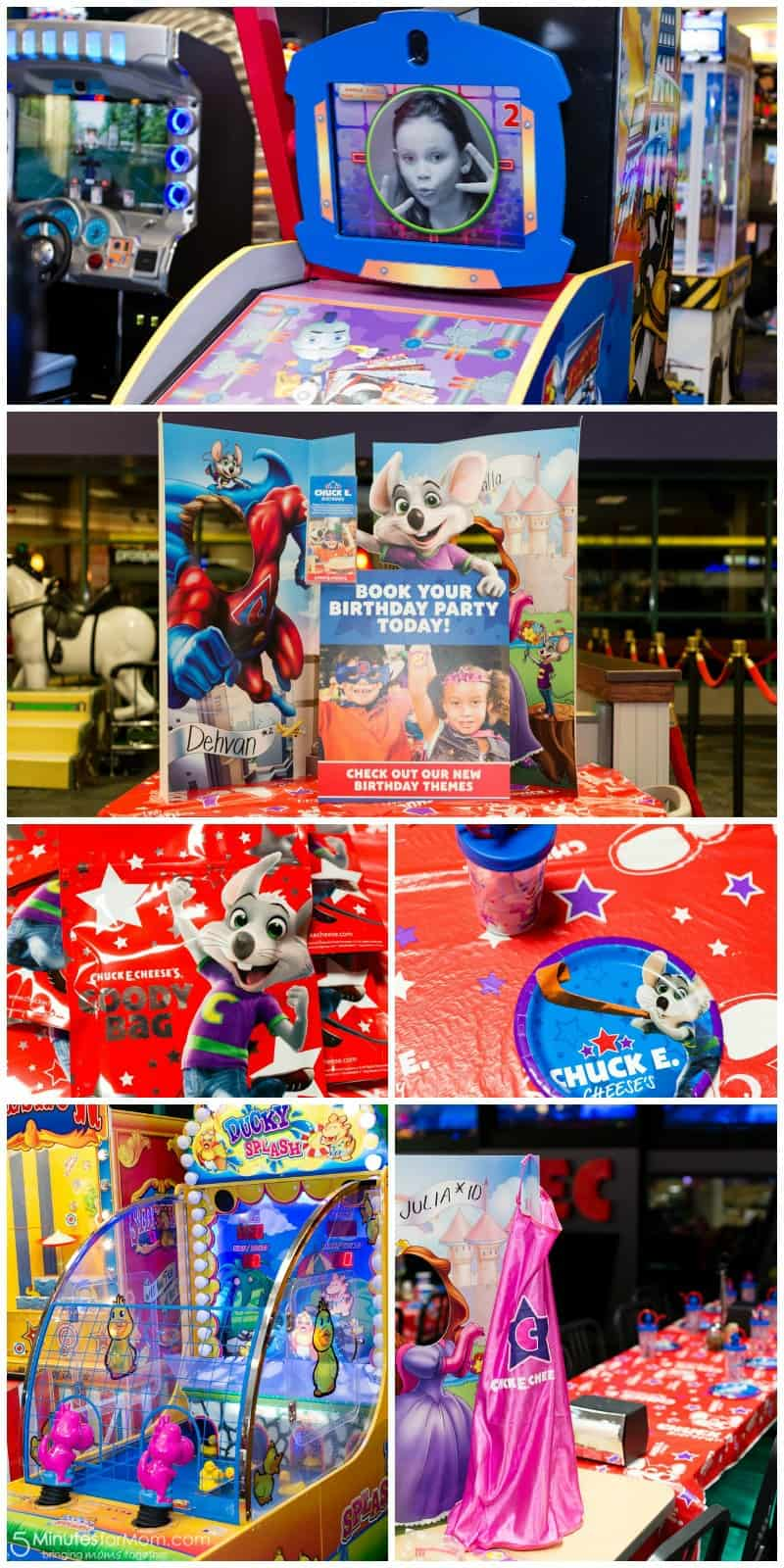 Chuck E Cheese Birthday Party Setup 5 Minutes for Mom
