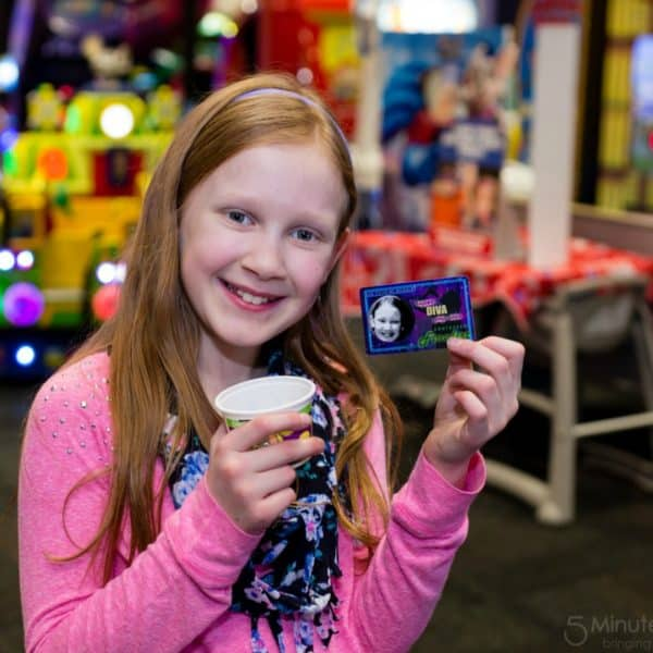 Wordless Wednesday – Fun at Chuck E. Cheese's