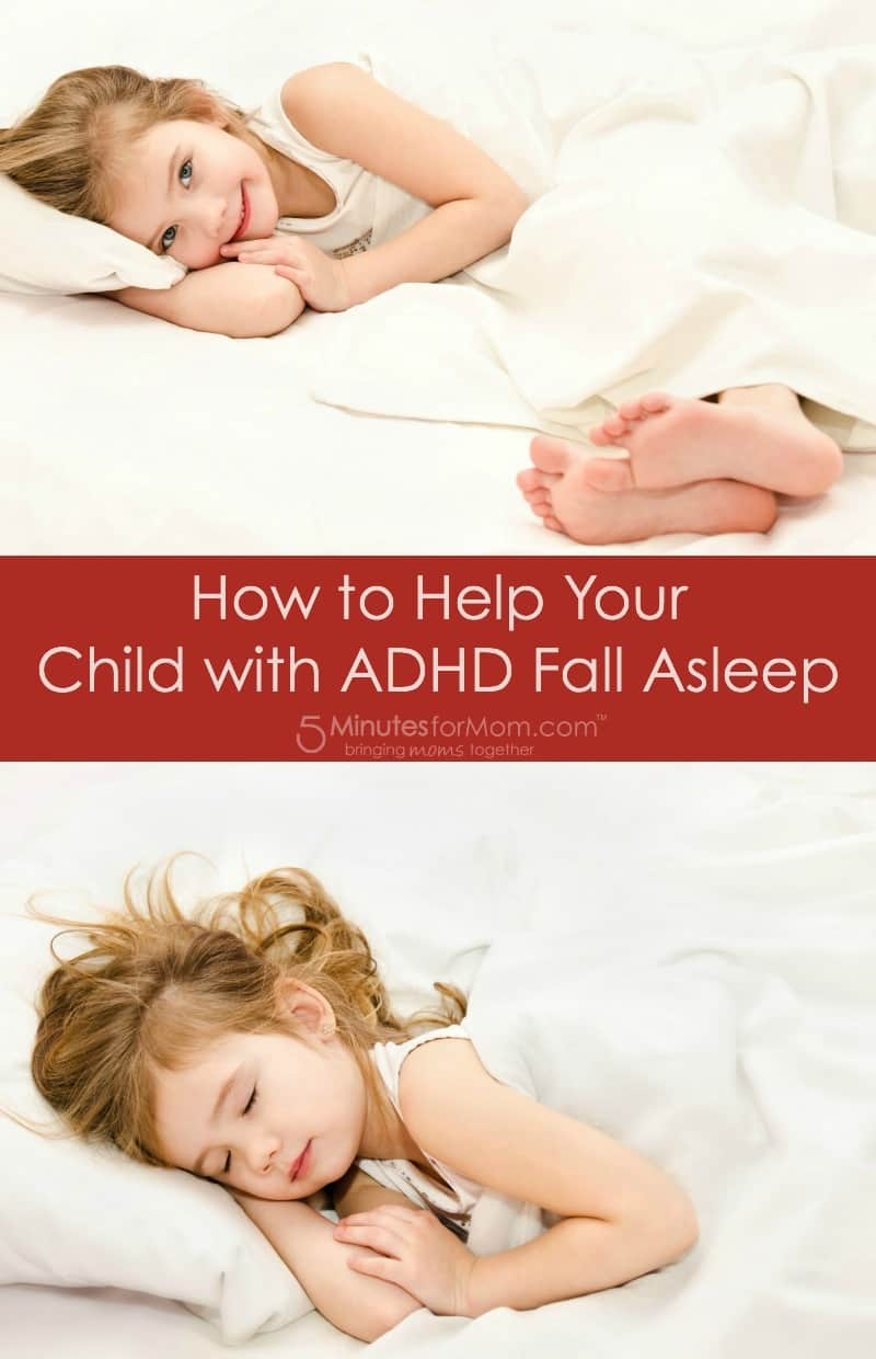 How to help your child with ADHD fall asleep