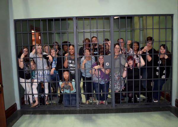 Marvels Agent Carter Set Visit - Bloggers in Jail #AgentCarter #ABCTVEvent