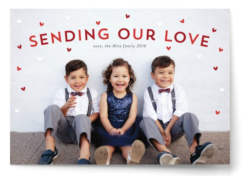 Minted - Sending Our Love Cards