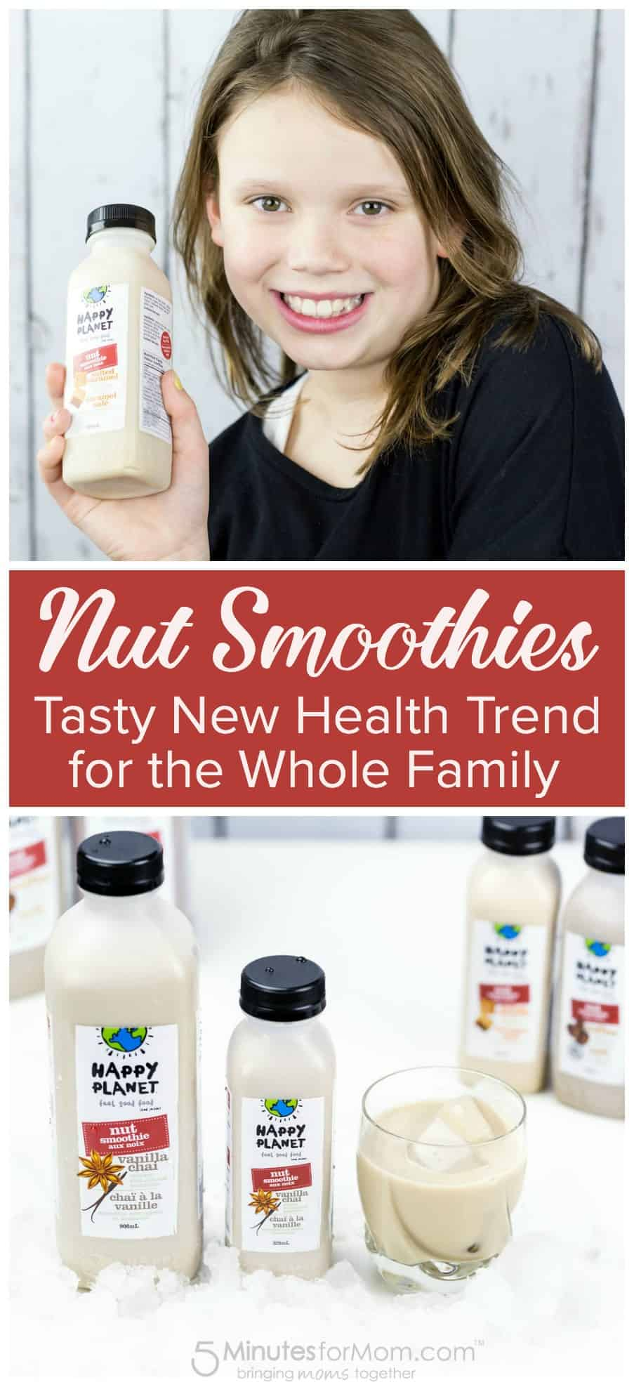 Nut Smoothies - Tasty New Health Trend for the Whole Family