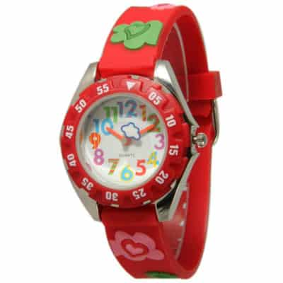 Olivia Pratt Kids Heart and Clover Watch