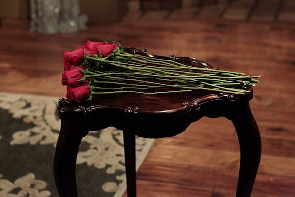 The Bachelor - Rose Ceremony (ABC:Rick Rowell)