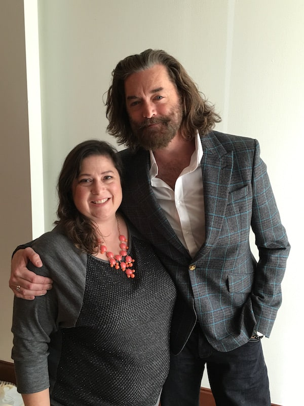 Timothy Omundson of Galavant and Dawn Cullo - ABCTVEvent