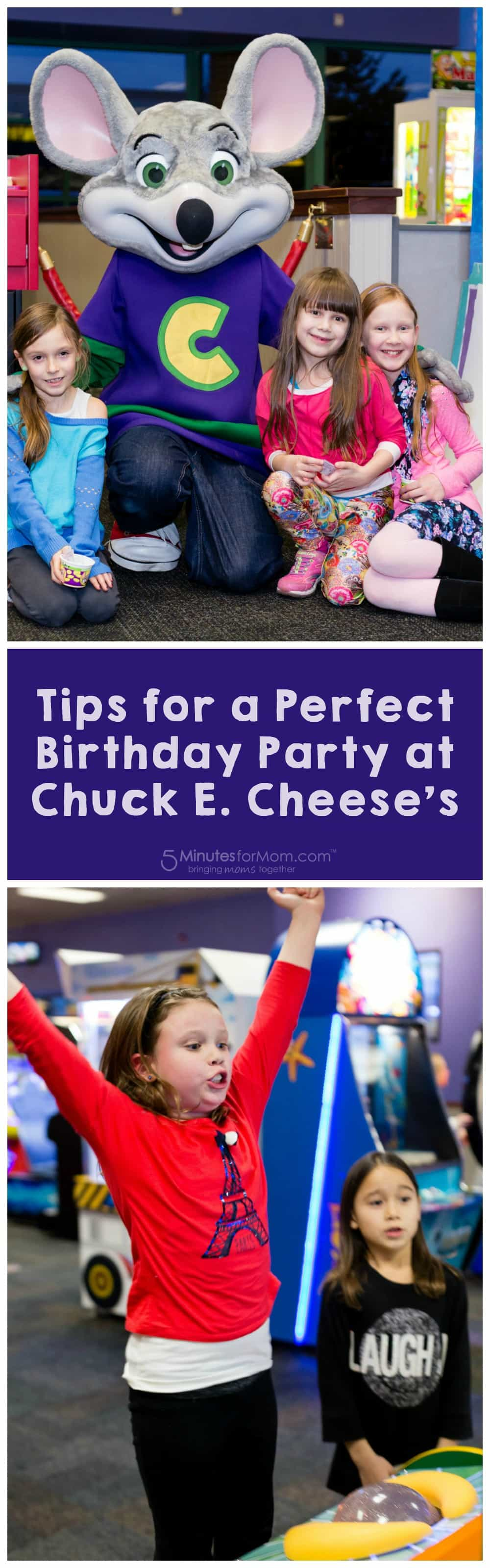 How to Throw a Perfect Birthday Party at Chuck E Cheese