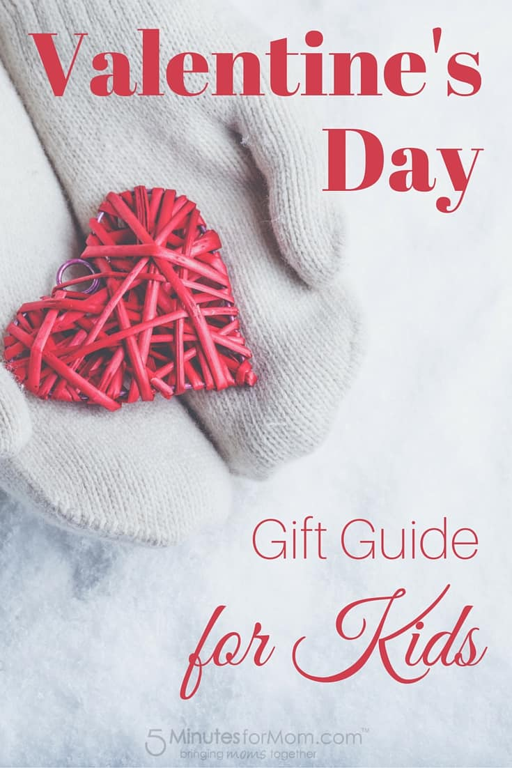 Valentines Day Gift Guide for Kids - Non-Candy Gift Ideas for Kids